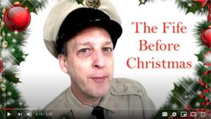 Barney Fife Impersonator Rik Roberts Christmas poem