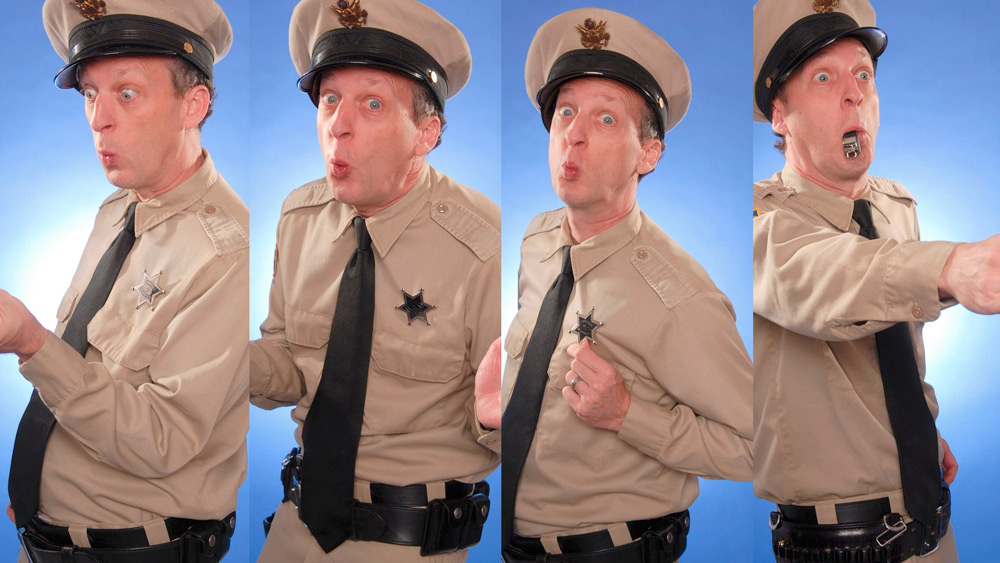 Barney Fife Impersonator Rik Roberts delivers Customer Service Keynote
